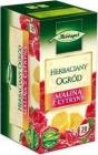 чая с малиной И сад с лимонными чайных пакетиков