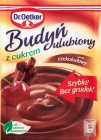 favorite pudding with sugar chocolate flavor