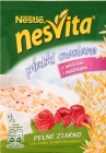 nesvita oatmeal with milk and raspberries