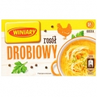 18 cubes broth Chicken broth