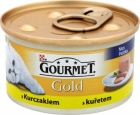 gold gourmet food for adult cats can of chicken