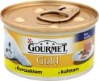 comida gourmet de oro para gatos adultos lata de pollo