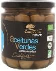 nature olives vertes dénoyautés bio