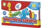 As school Plasticine 10 colors