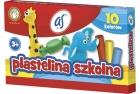 As Plastelina szkolna 10 kolorów
