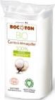 Tampons de coton bio - carré ( 75x75mm )