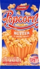 for the preparation of popcorn in a microwave oven with the taste of butter