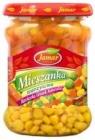 mélanger légumes carottes, pois, maïs