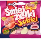 Laugh jelly beans , yogurt fortified with vitamins Sokkia