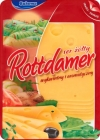 hard cheese sliced ​​Rottdamer