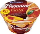 Premium yogurt with peaches and passion fruit