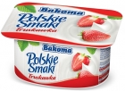 Polish flavors of strawberry yogurt