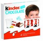 Kinder Chocolate 4 batoniki