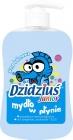 savon liquide junior avec saveur de gomme à bulles