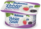 Polish flavors of yogurt forest fruits