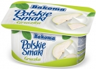 Polish pear flavors of yogurt