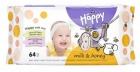 feliz toallitas para bebé leche y miel ph neutro 5,5