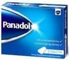 Analgésico Panadol y fiebre tabletas