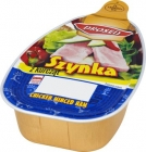 ham with diced chicken