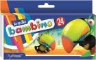 Bambino Kredki świecowe 24 kolory