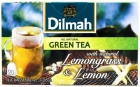 green tea from lemon grass and the aroma of lemon