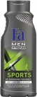 Hombres gel de ducha Xtreme organización deportiva y el cabello