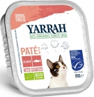 Salmon pate with marine algae Organic Adult Cat