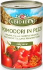 des tranches de tomates sans la peau ( TIN ) 400g BIO -BIO ID