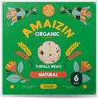 Amaizin tortilla wraps BIO