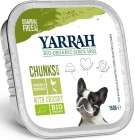 Yarrah pieces of chicken with vegetables, food BIO