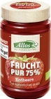 Confiture de fraises ( 55 % ) BIO 250g - ALLOS