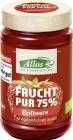 Allos Mus Truskawkowy 75% owoców