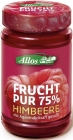 Jam made of raspberry (55%) 250g BIO - ALLOS