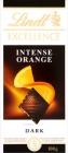 Excellence Orange chocolat noir intense avec des paillettes orange et aux amandes
