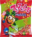 Zozole Musss Caramels with strawberry and cherry apple flavor with a sparkling filling