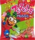Карамель Zozole Musss со вкусом клубники и вишни с игристым наполнителем