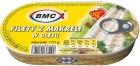 BMC Filety z makreli w oleju