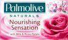 naturels nourrissant barre de sensation de savon avec des extraits de lait et de pétales de rose