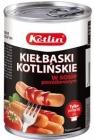 salchichas Kotliński en salsa de tomate