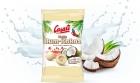 Casali gezuckerte Kokosnuss gefüllt mit alkoholizowanym in weißer Schokoladensauce
