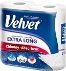 blanc pur serviette de papier plus long 2 plis doux comme du velours