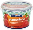mixed fruit marmalade with the taste of strawberry soft