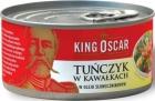 Roi accusé morceaux de thon à l'huile végétale