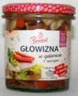 el queso de cerdo en gelatina Pamapol + verduras