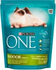 Purina Indoor Formula One Complete food for adult cats rich in turkey and beans 800g