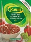 Kamis tomates con ajo y albahaca seca