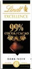 Lindt Excellence dark chocolate 99 % cocoa