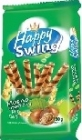 Happy Swing tube wafer with hazelnut cream