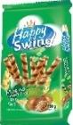 Happy Swing rurki waflowe z kremem