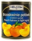 Helcom Peaches halves in light syrup